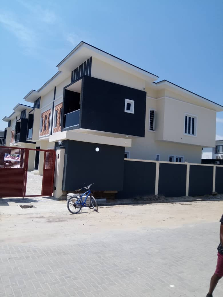 Neatly Finished & Affordable 3 Bedroom Terrace Duplex with BQ For Sale at Chevron Lekki