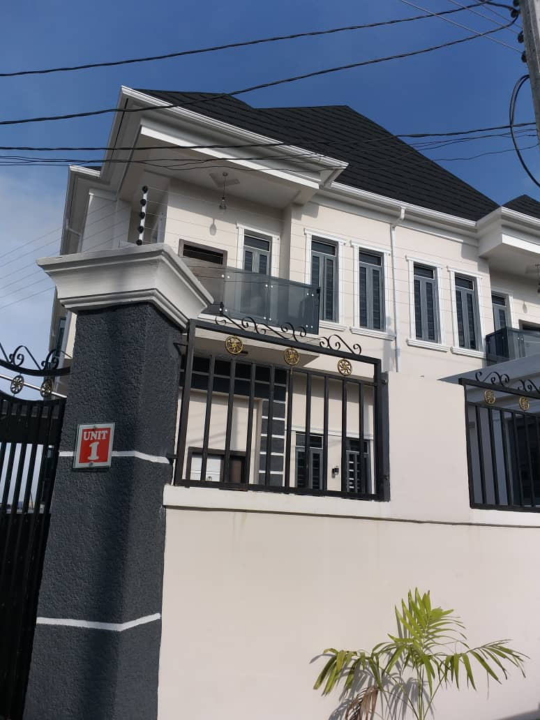 Neatly Finished Super Spacious 4 Bedroom Semi Detached Duplex with BQ