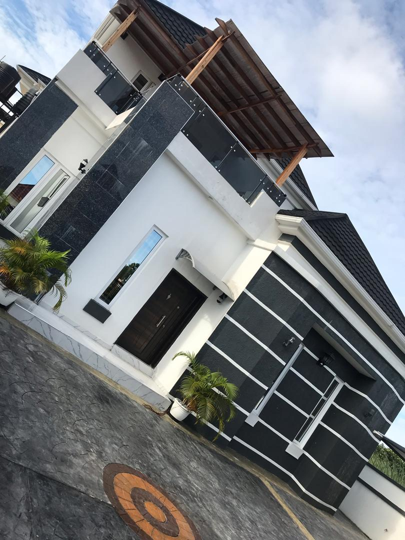Excellently Finished 4 Bedroom duplex fully detached With BQ