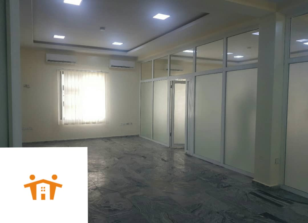 Tasteful Open plan office space measuring 145sqm For Rent