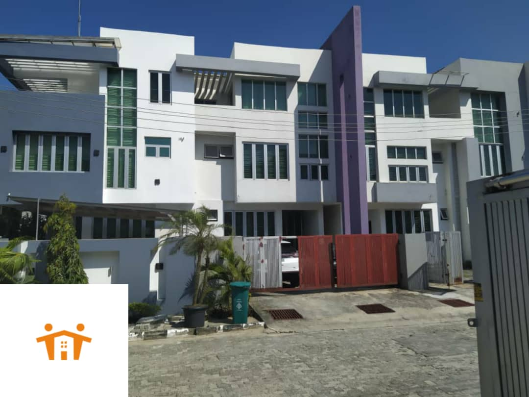 Tastefully finished Four Bedroom Duplex with a Room BQ.