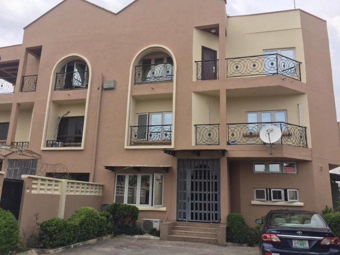 Exclusively and well finished 3 bedroom flat