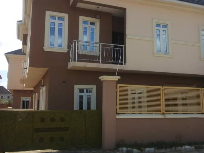 Tastefully finished 4 bedrooms detached duplex with BQ